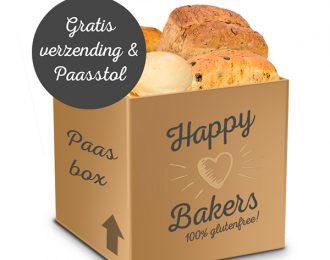 Paasbox Happy Bakers met gratis Paasstol en verzending!